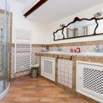 tenuta la valle - ville vacanze in toscana - interno bagno privato camera matrimoniale