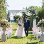 tenuta la valle - location per matrimoni in toscana - cerimonia civile attorno agli ulivi